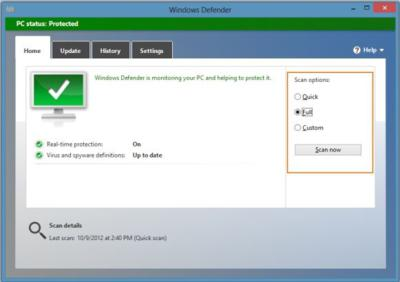 tech tips, tips, windows 8, windows defender