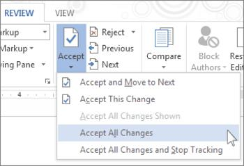 MS office, MS Word, track changes, tech tips, tips, Word 2013, Word tips