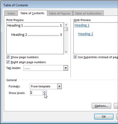 format table contents, MS office, MS Word, tech tips, tips, Word 2013, Word tips