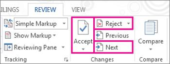 MS office, MS Word, tech tips, tips, track changes, Word 2013, Word tips, comments