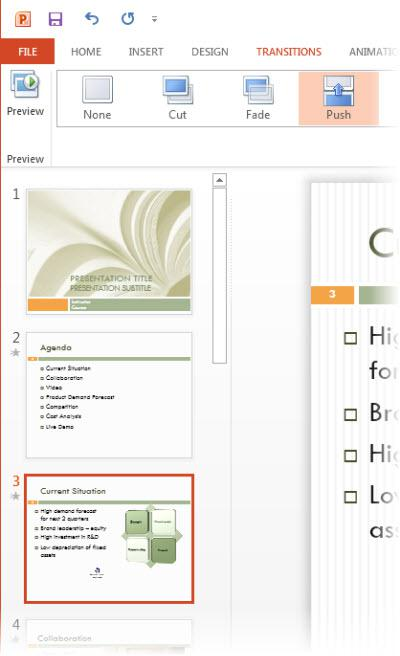 slide transition, MS office, MS Powerpoint 2013, office 2013, powerpoint tip, tech tips, tips