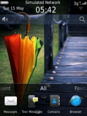 Blackberry, blackberry apps, Blackberry theme, mobile theme