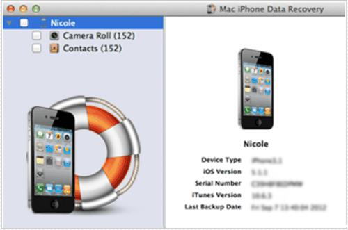 freeware, backup tool, recovery tool, data recovery, Mac apps, iphone recovery