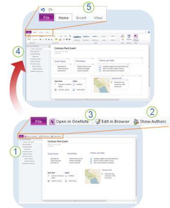 tech tips, tips, onenote tips, ms onenote, skydrive, onenote web app, galance