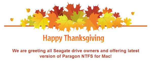 giveaway, giveaways, thanksgiving, paragon software, hard disk tool, utilities