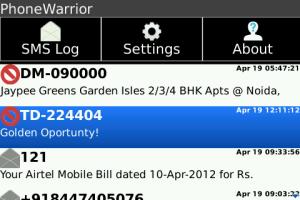 blackberry apps, free apps mobile app, text blocker, call blocker, sms blocker
