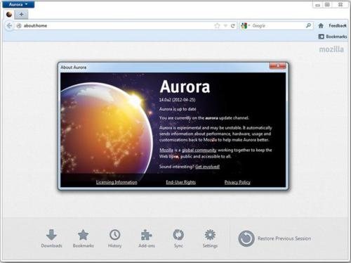 freeware, firefox, firefox aurora, browser