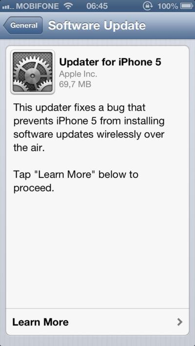news, iOS 6.0.1 released, iOS, iPhone, iPod touch, iPad