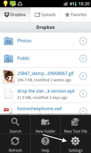 tech tips, tips, dropbox, dropbox security, dropbox for android
