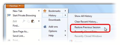 browser, Firefox, firefox tips, internet, session restore, tech tips, tips, restore tab