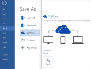 tech tips, tips, online storage, cloud storage, skydrive, internet, save document online