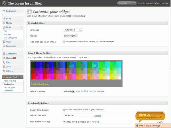 wordpress, wordpress plugin, live chat, free wordpress plugin