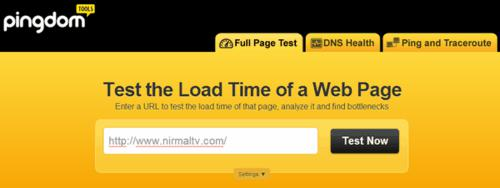 web master, tech tips, tips, check web load time, usefule website, web app, test page load time