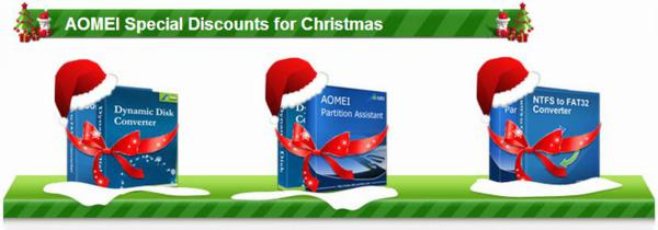 discount, coupon, christmas, aomei
