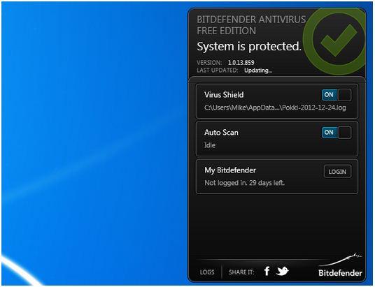 freeware, antivirus, bitdefender free, bitdefender antivirus