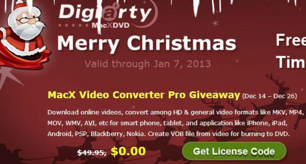 Christmas, christmas gift, christmas giveaway, giveaways, giveaway, media tool, video converter, multimedia