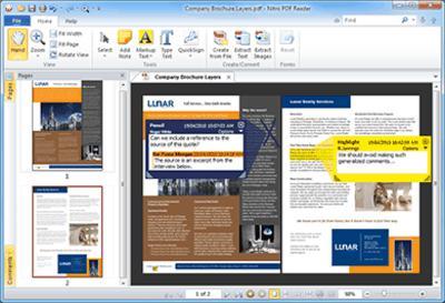 freeware, office tool, pdf tool, pdf reader, nitro reader