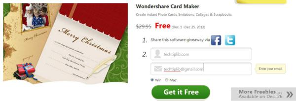 Photo Collage, giveaway, giveaways, image tool, photo tool, Christmas, christmas gift, christmas giveaway, wondershare
