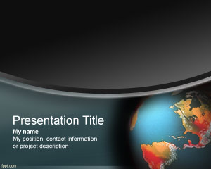 free template, powerpoint template, ms powerpoint, nature template