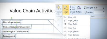 MS Powerpoint, office tips, powerpoint, Powerpoint 2010, powerpoint tips, powerpoint tricks, tech tips, tips, align text in powerpoint