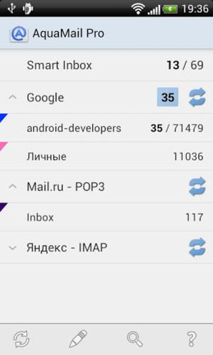 Email on Android