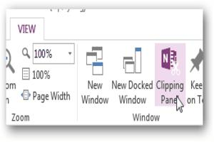 MS Onenote, office tips, onenote 2013, onenote tips, onenote tricks, OneNote Web App, tech tips, technology tips, tips, cliping tool