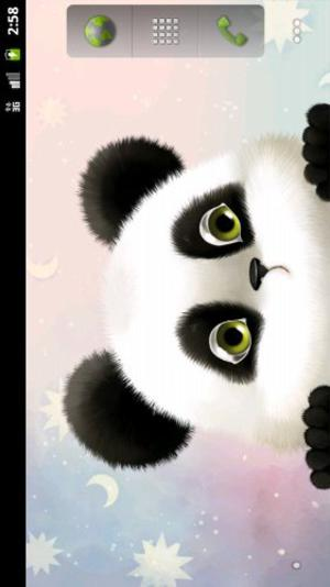 android, android theme, android wallpaper, mobile themes, mobile wallpaper, panda theme