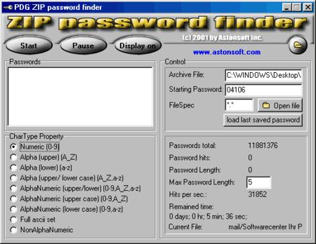 Password Finder