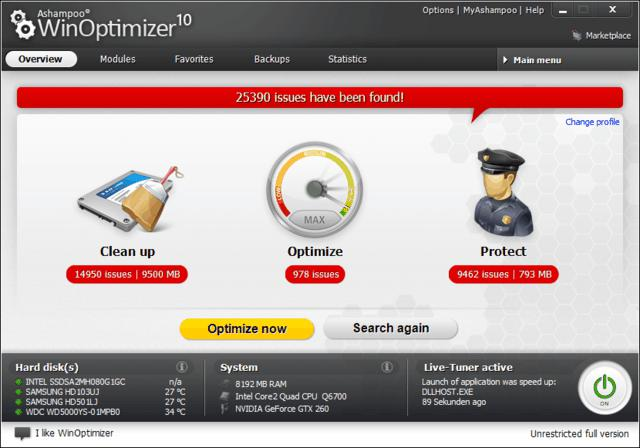 Ashampoo, freebies, giveaway, giveaways, system optimization, system tool, Utilities, windows optimizer