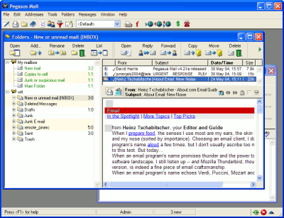 freeware, email program, email application, office tool, email tool