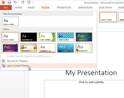 MS office, MS Powerpoint, office 2013, office tips, powerpoint, powerpoint 2013, powerpoint tips, powerpoint tricks, tech tips, tips, Change Slide Size