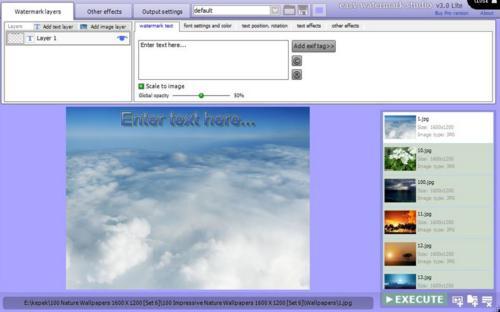 photo tool, image tool, photo watermark