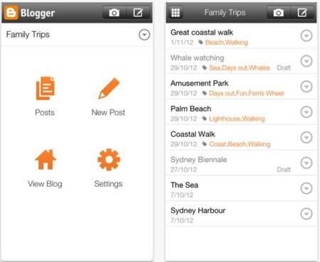 mobile apps, Android apps, apps for blogger