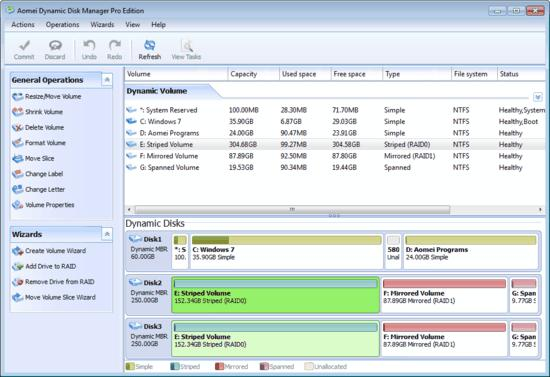 Aomei, disk converter, disk manager, disk tool, freebies, giveaway, giveaways, partition tool, Dynamic Disk Manager Pro Edition