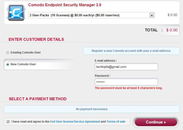giveaway, giveaway, Comodo, Endpoint Security Manager 3