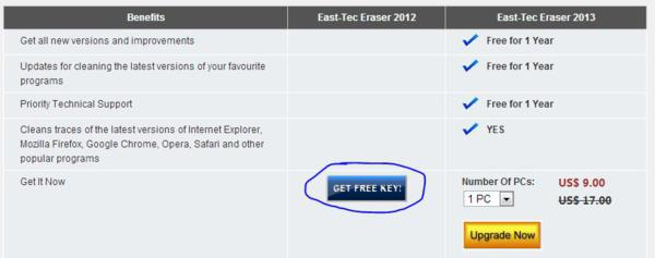 giveaway, giveaways, online privacy protection, East-Tec Eraser 2013