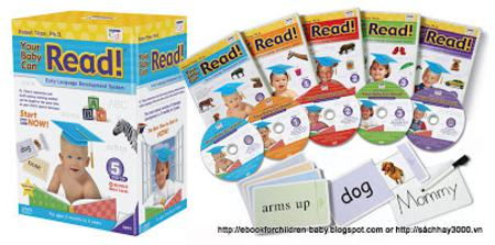 6 DVDs Full Your Baby Can Read