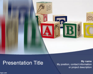 ABC PowerPoint Template
