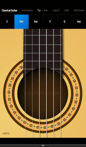 Classical Guitar - Play a virtual classical guitar on your Android devices