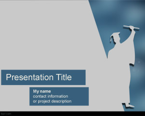 Free 12 powerpoint templates for education 6 techtiplib commencement powerpoint template toneelgroepblik Gallery