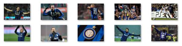The Windows 8 Theme about Inter Milan football club