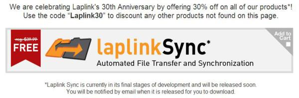 Laplink Sync - Automated File Transfer and Synchronization