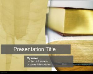 Novel PowerPoint Template