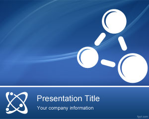 Physics Lessons powerpoint template
