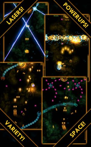 Adroid game: Plasma Sky - Rad Space Shooter