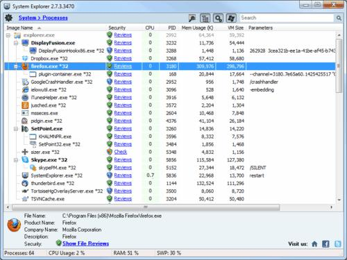 System Explorer Portable 4.2.1