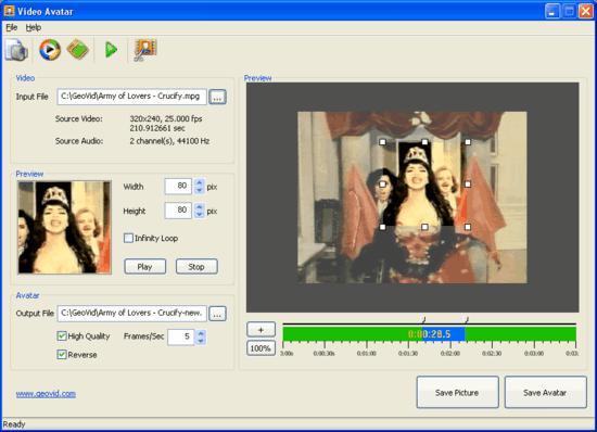 screenshot of Video Avatar 4.0