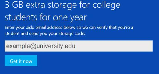 skydrive for student