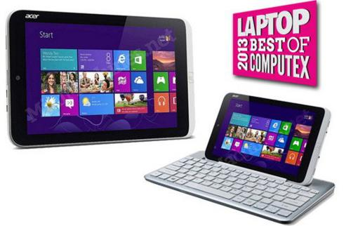 Best Tablet - Acer Iconia W3 - computex