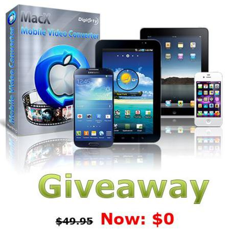MacX Mobile Video Converter giveaway